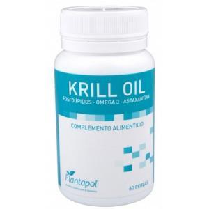 KRILL OIL aceite de krill antartico 60perlas de PLANTAPOL