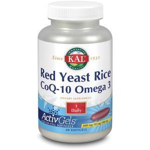 KAL RED RICE – Q10 – OMEGA 3 60perlas de SOLARAY
