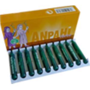 ANPAHI FORTE drenador hepatico 20amp. de EQUISALUD