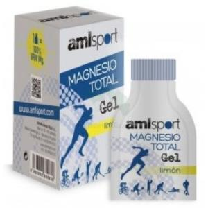 MAGNESIO total sabor limon 12sbrs.gel AMLSPORT