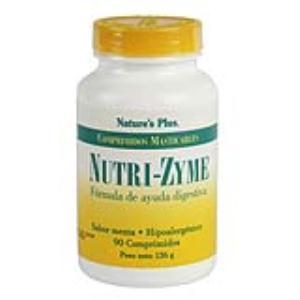NUTRIZYME  90 comp. Masticable de NATURES PLUS