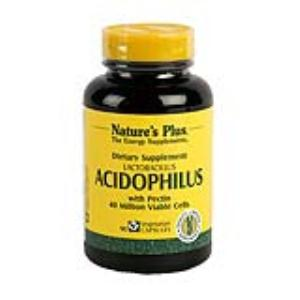 ACIDOPHILUS 90 cap. de NATURES PLUS