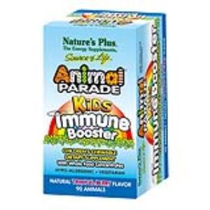 ANIMAL PARADE kids immune booster 90comp.mast. de NATURES PLUS