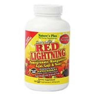 RED LIGHTNING 180vegicap. de NATURES PLUS