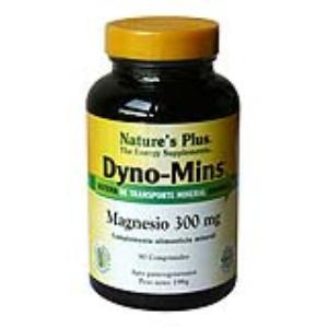 DYNO-MINS MAGNESIO 300mg. 90 comp. de NATURES PLUS