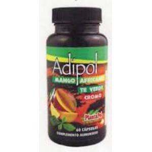 ADIPOL (mango africano,te verde,cromo) 60cap. de PLANTAPOL