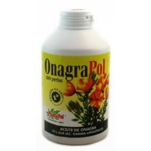 ONAGRAPOL-120 (aceite de onagra) 500mg. 400perlas de PLANTAPOL