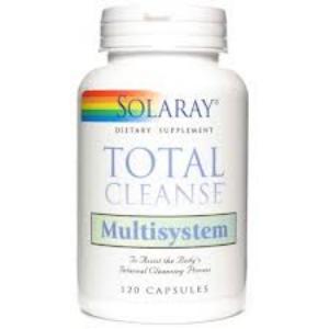 TOTAL CLEANSE MULTISYSTEM 120cap. de SOLARAY