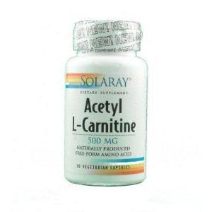 ACETYL L-CARNITINE 500mg. 30cap. de SOLARAY