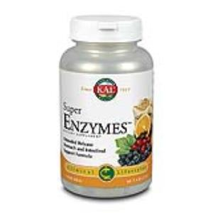 SUPER ENZYMES 60com. KAL de SOLARAY