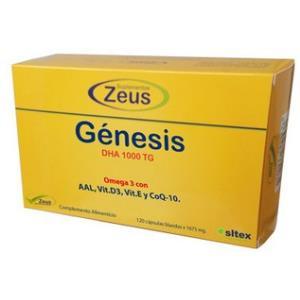 GENESIS DHA TG 1000 omega 3 120cap. de ZEUS