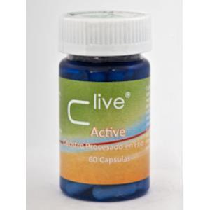 C LIVE ACTIVE CALOSTRO 60cap. de VBYOTICS