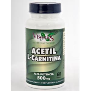 ACETIL L-CARNITINA 60cap. de VBYOTICS