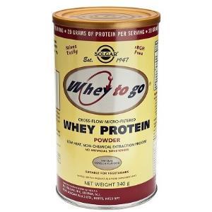 WHEY TO GO proteina en polvo VAINILLA 340gr de SOLGAR