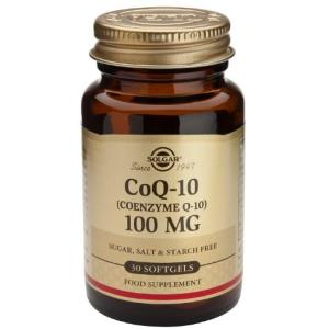 COENZIMA Q10 100mg. 30cap.de gelatina blanda de SOLGAR