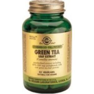 TE VERDE-hoja-(green tea) 60vegicaps de SOLGAR