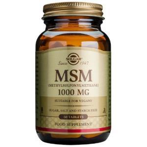 MSM (metilsulfonilmetano) 1000mg. 60comp. de SOLGAR