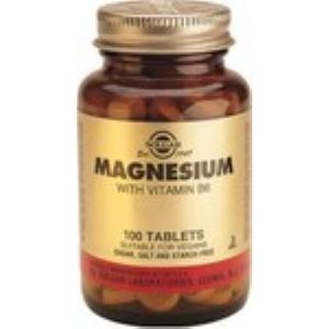 MAGNESIO + B6 250comp. de SOLGAR » Farmacia Romances
