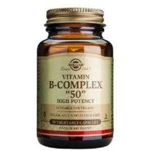 B-COMPLEX 50 100cap.veg. de SOLGAR