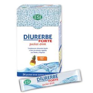DIURERBE FORTE pocket drink sabor piña 24sbrs. de TREPATDIET-ESI