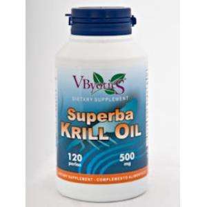 SUPERBA KRILL OIL (aceite de krill)120perlas de VBYOTICS