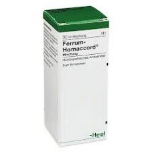 FERRUM-HOMACCORD  Gotas 30 ml. de HEEL