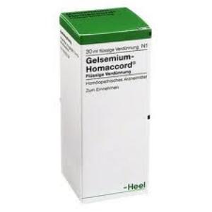 GELSEMIUM-HOMACCORD Gotas 30 ml. de HEEL