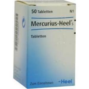 MERCURIUS HEEL  50 Comprimidos de HEEL