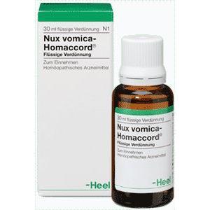 NUX VOMICA-HOMACCORD  Gotas 30 ml. de HEEL