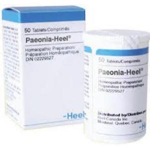 PAEONIA HEEL  50 Comprimidos de HEEL