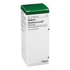 SABAL-HOMACCORD  Gotas 30 ml. de HEEL