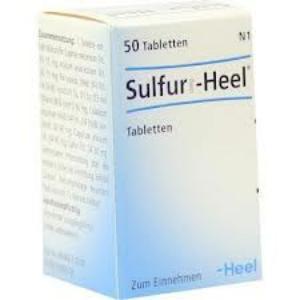 SULFUR-HEEL  50 Comprimidos de HEEL