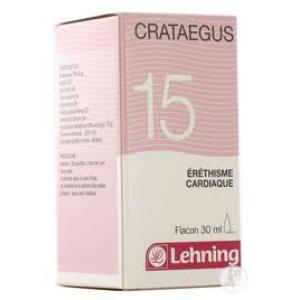 CRATAEGUS COMP. Nº15 30 ml. de LEHNING