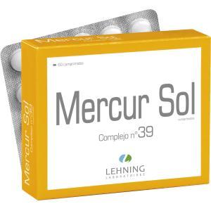 MERCUR.SOL.COMP. Nº39 Comprimidos de LEHNING