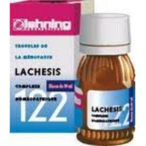 LACHESIS COMP. Nº122 30 ml. de LEHNING