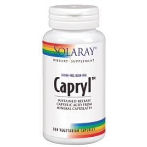 CAPRYL TM (acido caprilico) 100cap.veg de SOLARAY