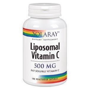 LIPOSOMAL VITAMIN C 500mg. 100cap.veg de SOLARAY