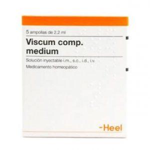 VISCUM COMP. MEDIUM 5 Amp. 2,2 de HEEL
